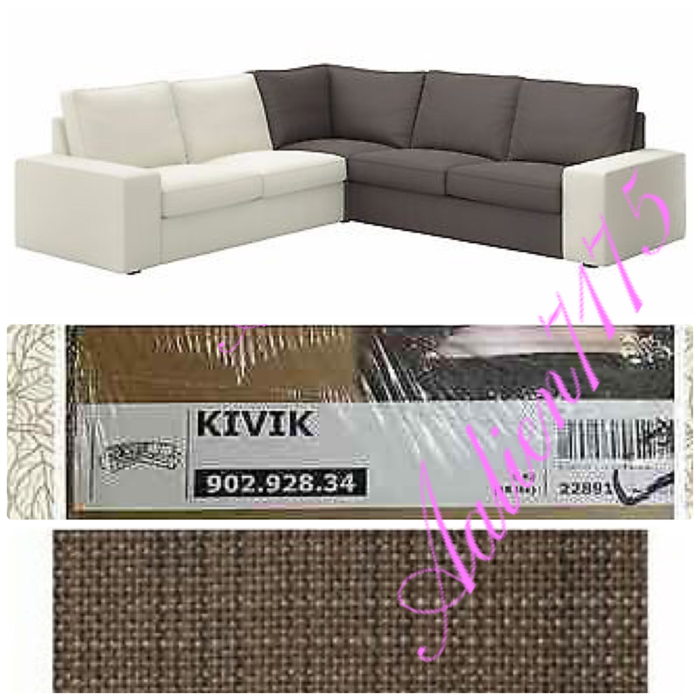 Kivik Sectional Ikea Kivik Corner Section Sectional Cover Slipcover Tullinge