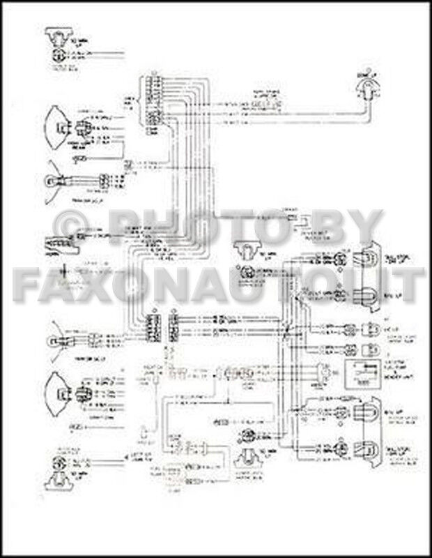 1968 nova chevy ii wiring diagram manual ebay