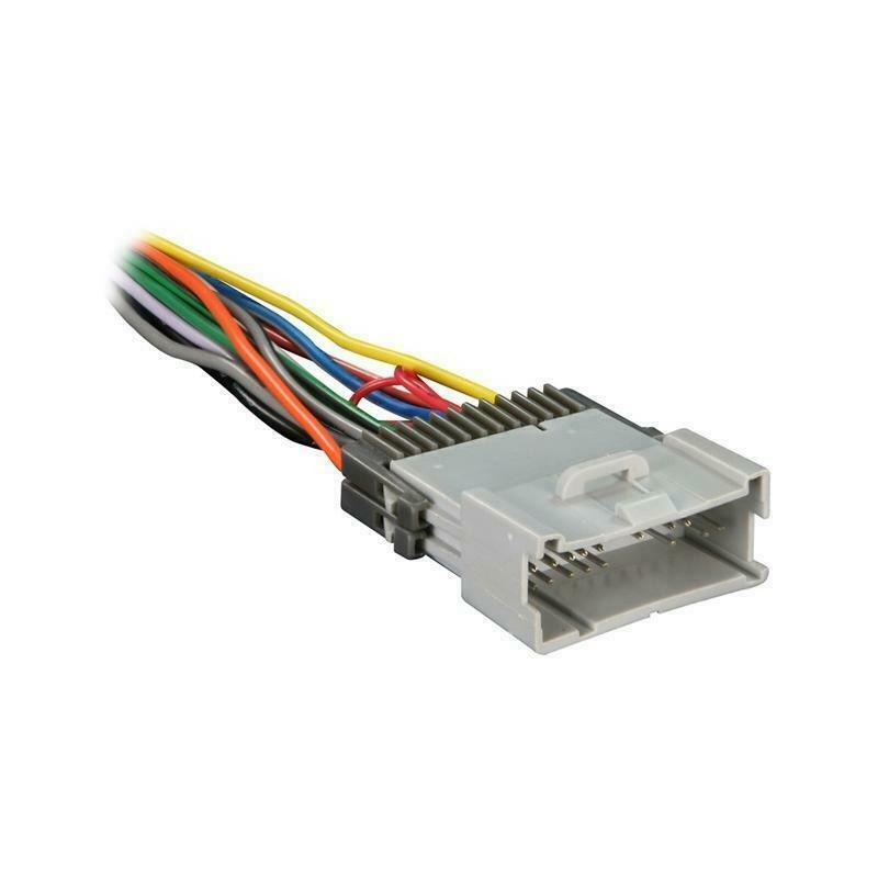 Raptor GM4003 70-2002 24 Pin Radio Wire Harness for Select 2000-2005