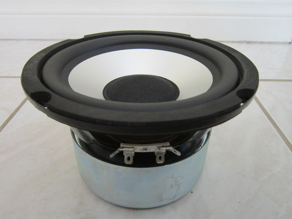 "Sub Speaker 8 Ohm New 6.5"" Subwoofer Speaker.audio.6-1/2.bass.shielded.8 Ohm"