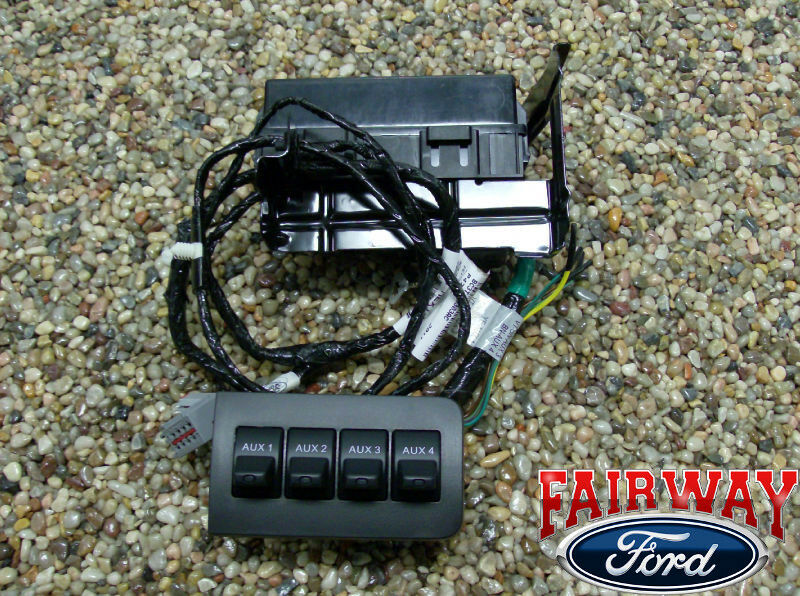 11 thru 16 Super Duty F250 F350 F450 F550 OEM Ford In-Dash Upfitter