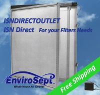 EnviroSept Electronic Furnace Air Filter Panel and Filter ...