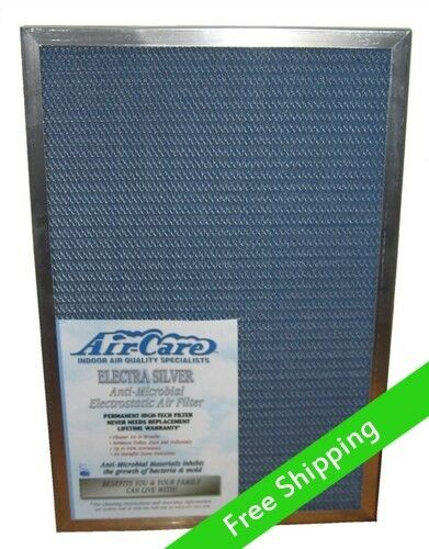 Air Care 20x30x1 Silver Electrostatic Filter Permanent