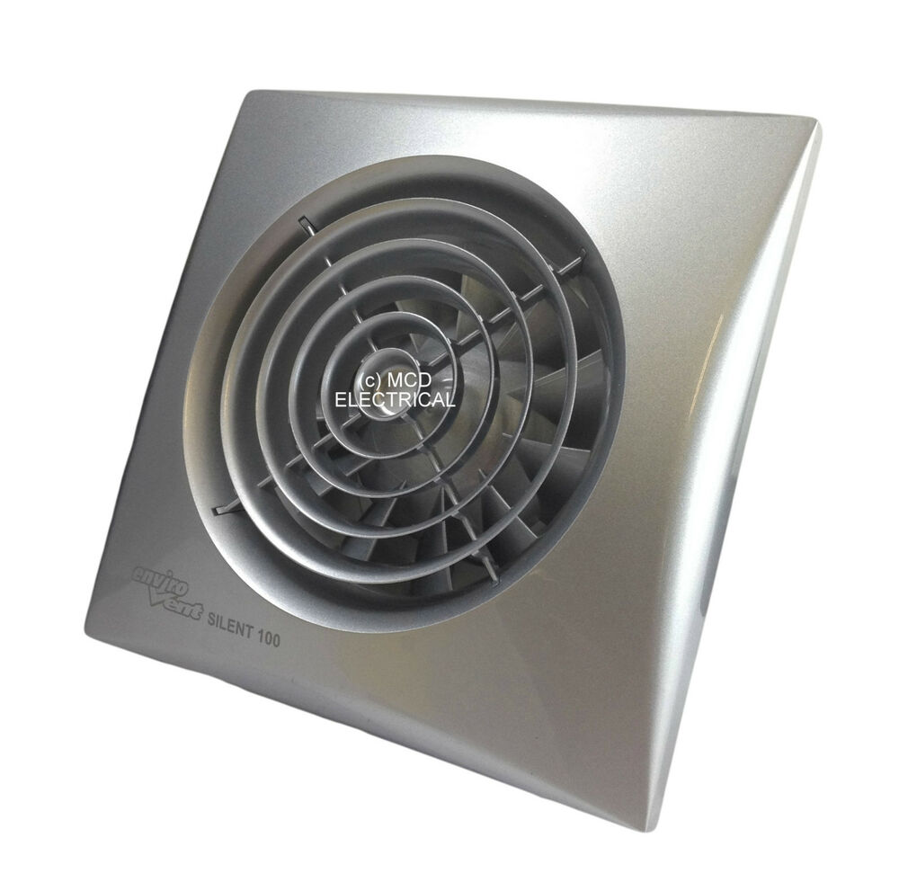 "Ventilator Lautlos Envirovent Sil100ss ""silent"" Extractor Fan With Matt"
