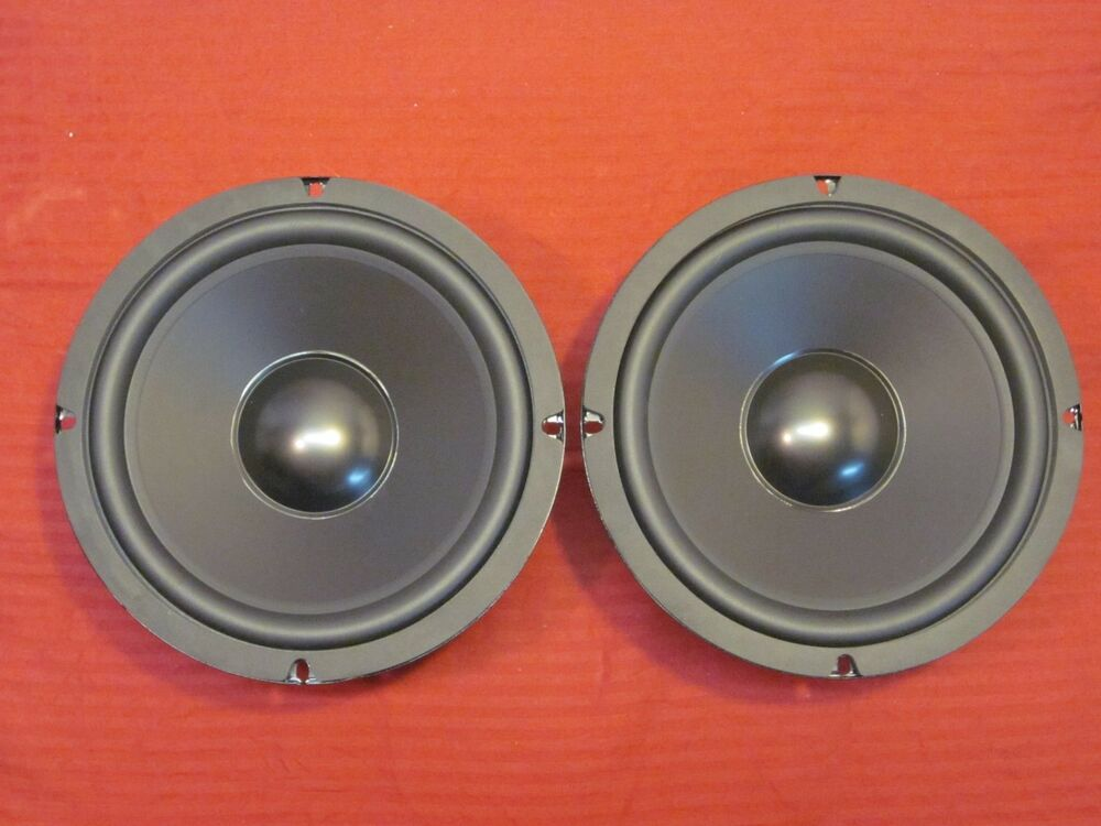 "Sub Speaker 8 Ohm New (2) 8"" Woofer Replacement Speakers.8 Ohm.bass Eight"