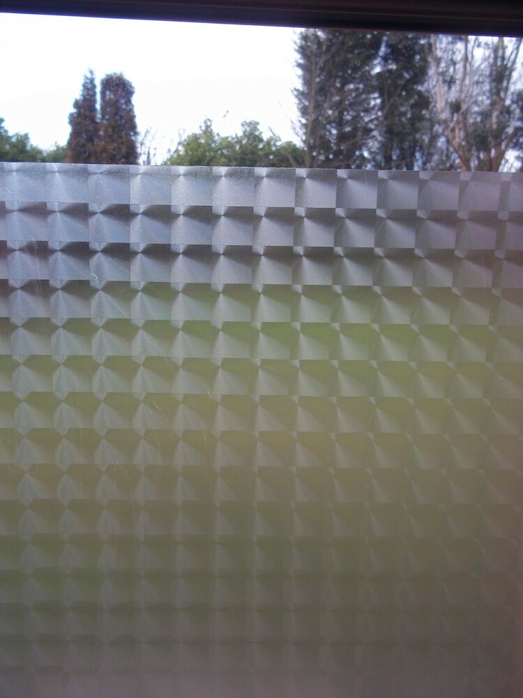 Ebay 3d Wallpaper Photo Fablon Frosted Tronque Privacy Glass Window Static Cling