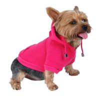 FLEECE DRAWSTRING HOODIES PULLOVER JACKET COAT FOR DOG ...