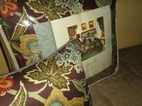 ROSE TREE AUDUBON (5PC) QUEEN COMFORTER SET BROWN FLORAL ...