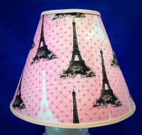 Pink Eiffel Tower Paris Lampshade Lamp Shade | eBay