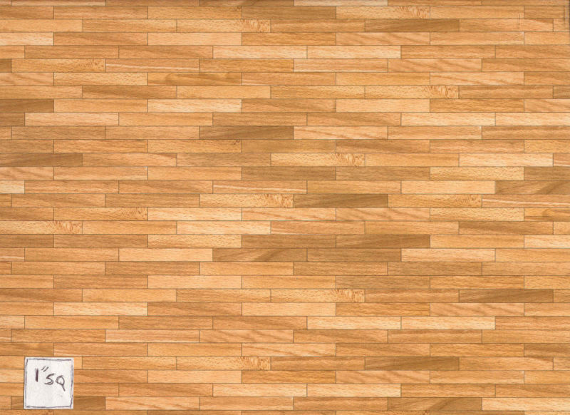Faux Brick Wallpaper 3d Faux Plank Wood 34601 Floor Sheet Dollhouse 1 12 Scale