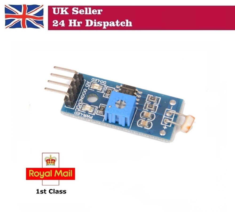 Lichtsensor Aansluiten Lm393 Optical Sensitive Ldr Light Detection Photosensitive Sensor Module Ebay