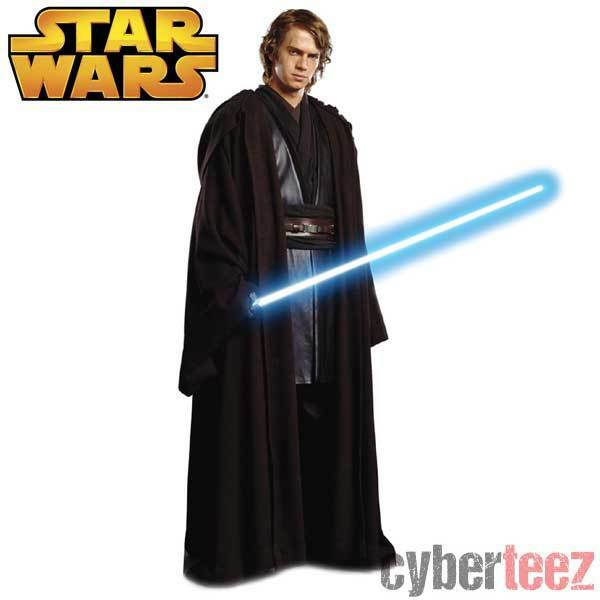 Anakin Skywalker Jedi Star Wars Anakin Skywalker Blue Jedi Knight Lightsaber