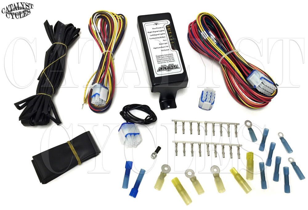 Complete Motorcycle Wiring Harness Ultima Wiring Harness for Harley