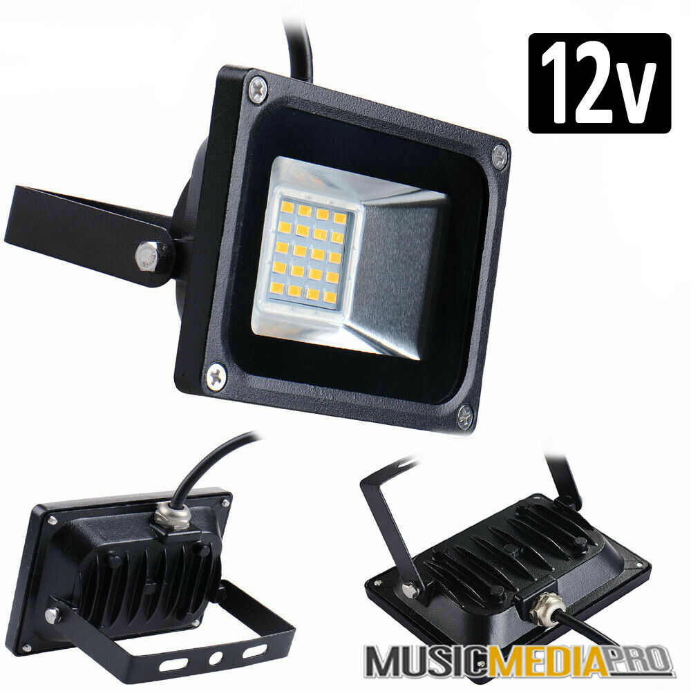 Eclairage Led 12v Exterieur 12v 10w Warm White Led Floodlight Ip65 Waterproof Outdoor Flood Light Lamps Ebay