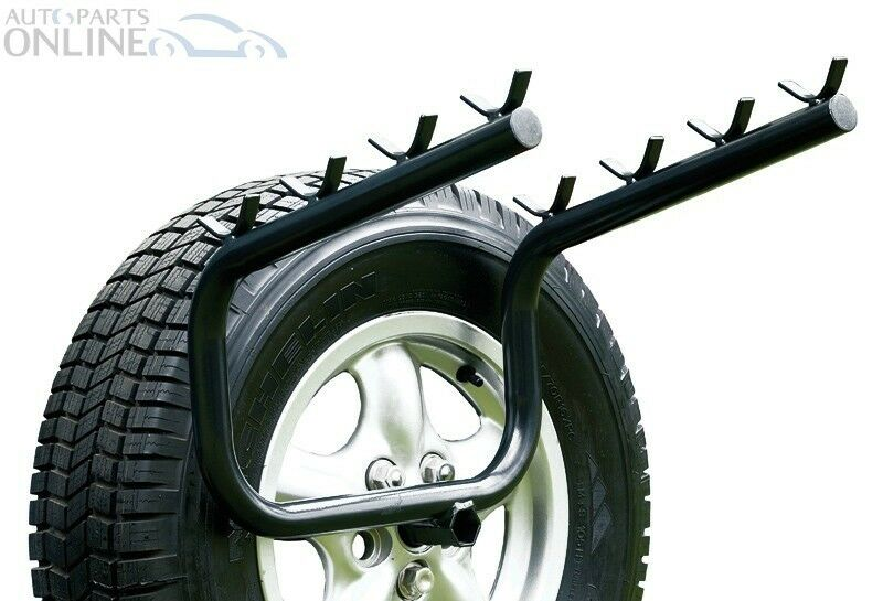 Land Rover Discovery 2 Bike Rack Spare Wheel Mounted 4