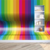 3D Optical Illusion Wall Paper Wall Mural Wallpaper 3000mm ...
