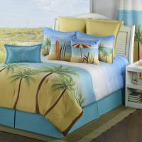 Palm Coast Bedding Collections - Coastal/Surfing/Tropical ...