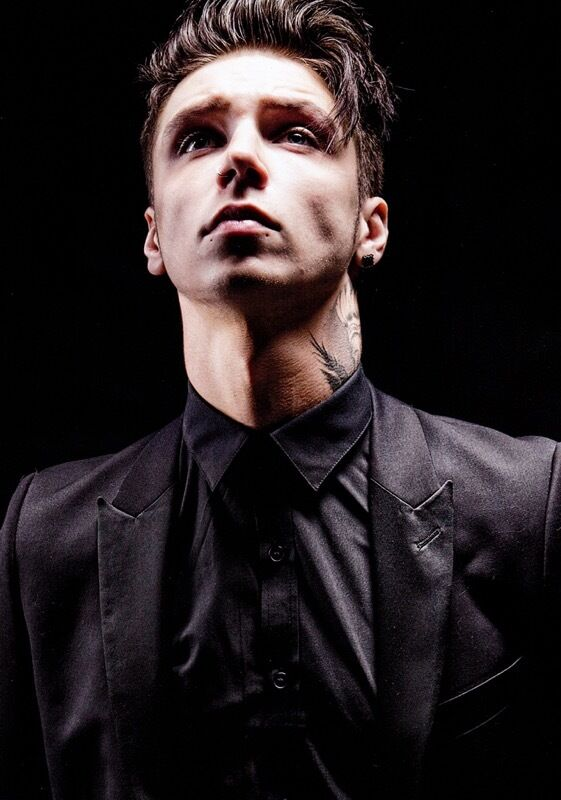 Black Veil Brides Wallpaper Andy Biersack The Shadow Side Photo Print Poster Andy