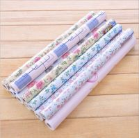 Flower Contact Paper Shelf Drawer Liner Self-adhesive ...