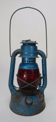 Dietz Oil Lamp. Dietz Blue Little Wizard Kerosene Oil ...