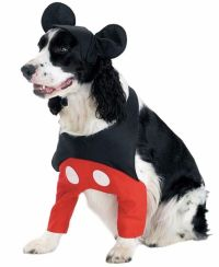 Mickey Mouse Pet costume, Disney Pet Halloween Dog Costume ...