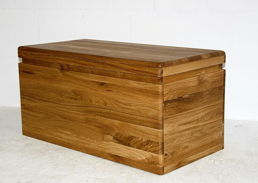 Sitztruhe Holz Solid Wood Linen Chest Wild Oak Oiled Chest Sits Rest Bench Wooden