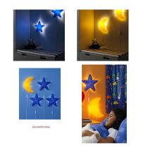 IKEA Kids Wall Lamps SMILA Nightlight Blue Star or Yellow ...
