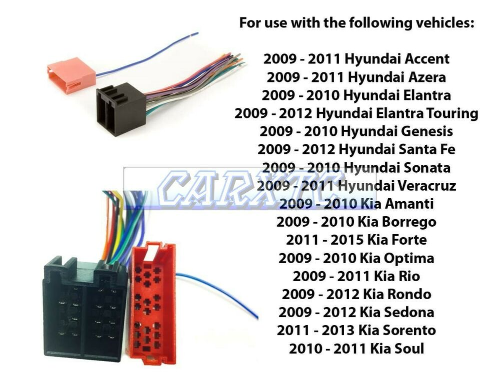 Aftermarket Stereo Install Radio Wire Harness Amplified Factory