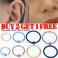 Tragus Helix Bar Ring Hoop Cartilage Ear Earring Small ...