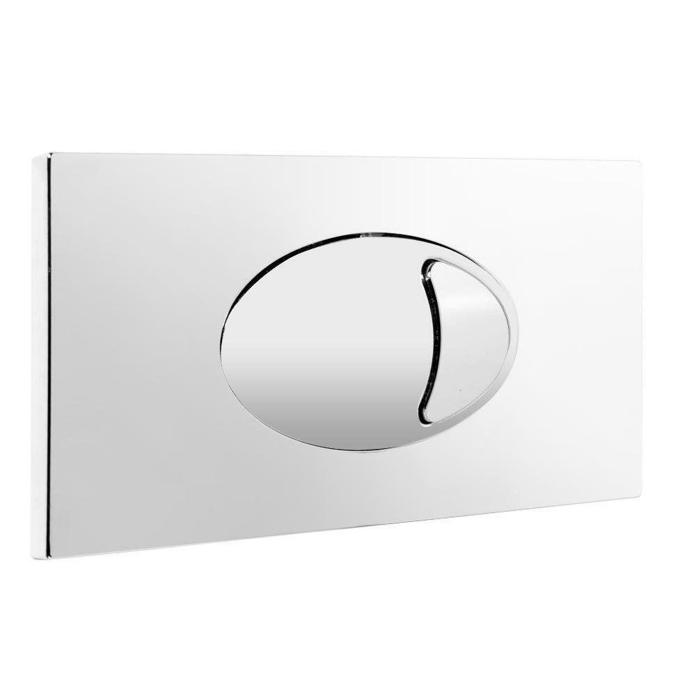 Wc Toilette Prix Toilet Concealed Cistern Large Dual Flush Plate Wc Push Button Abs Chrome Finish 4201782701000 Ebay