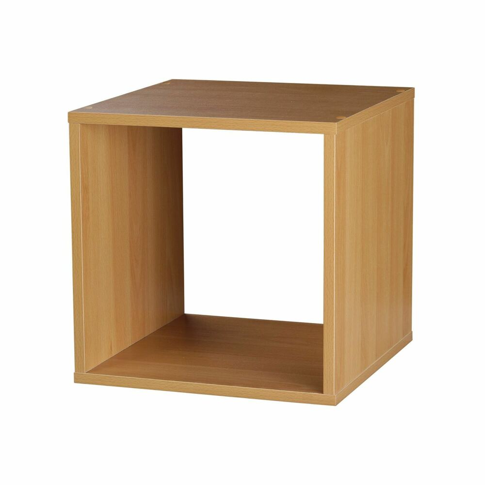 Square Box Beech Wooden Stackable Storage Cube Square Box Organiser Side Table Unit Shelf 5054667110102 Ebay