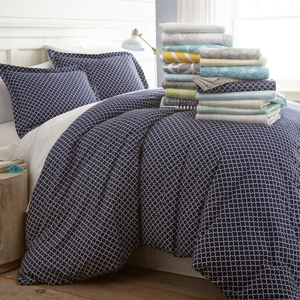 Patterned Duvet Cover 3 Piece Patterned Duvet Cover Sets By Home Collection 8 Beautiful Designs Ebay