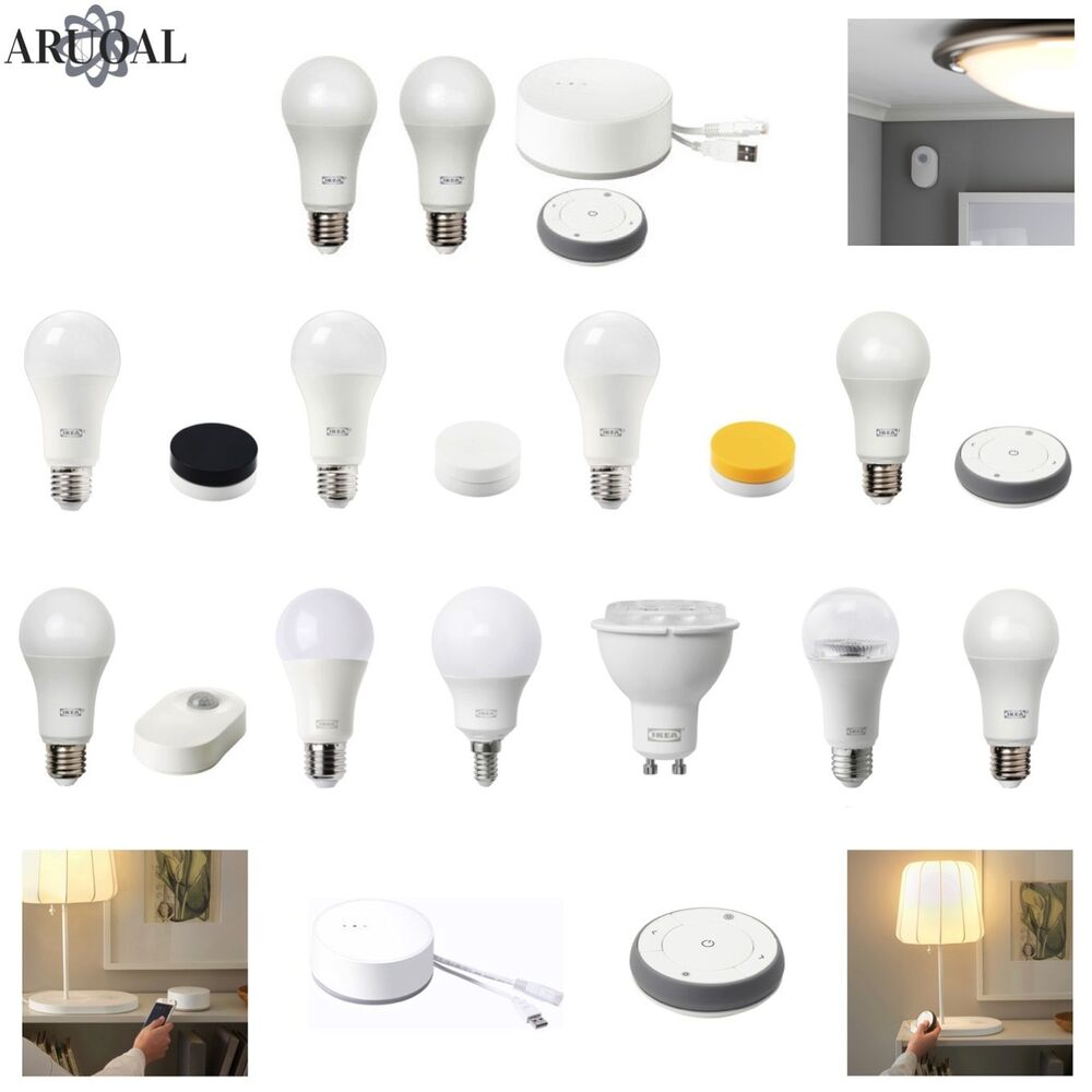 Ikea Tradfri Ikea TrÅdfri Tradfri Smart Led Wifi Lighting Various Bulbs Kits Ebay