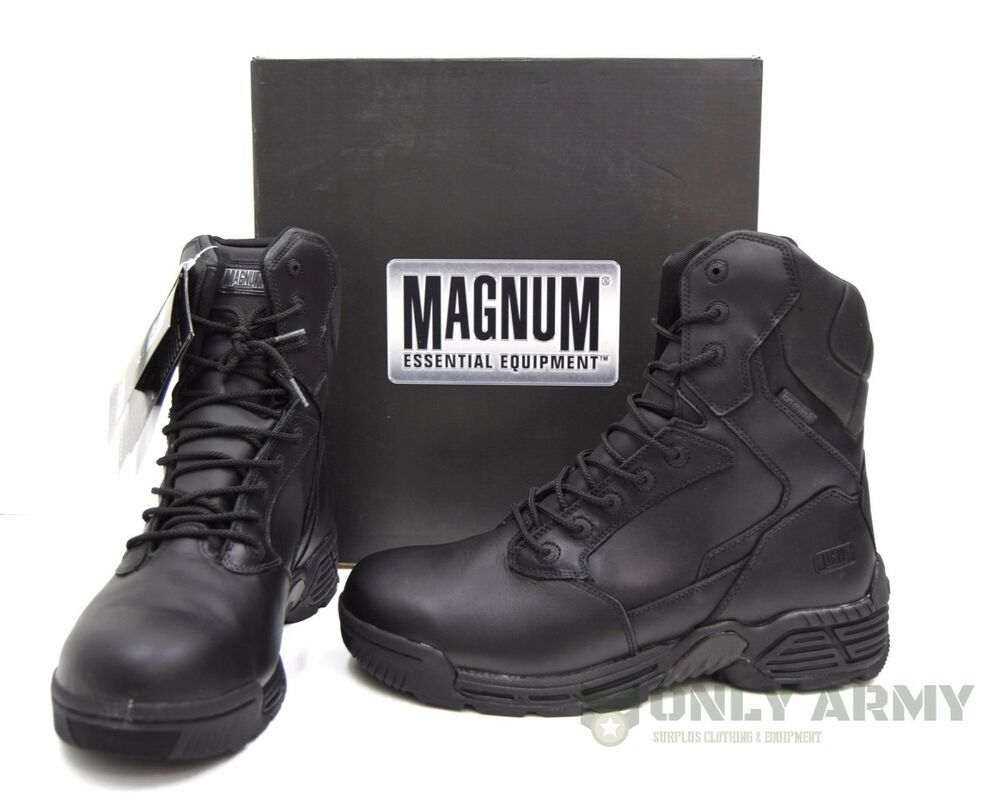 Magnum Stealth Force 80 Wpi Boots Waterproof Leather