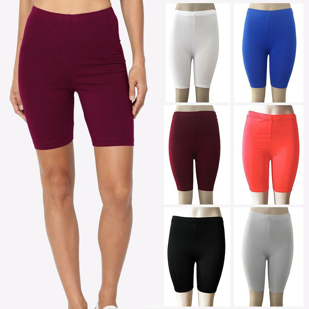 Cycling Clothing Women Fashion Mid Sexy High Elasticity Leggings Gym Active Pants Cycling Shorts Ebay