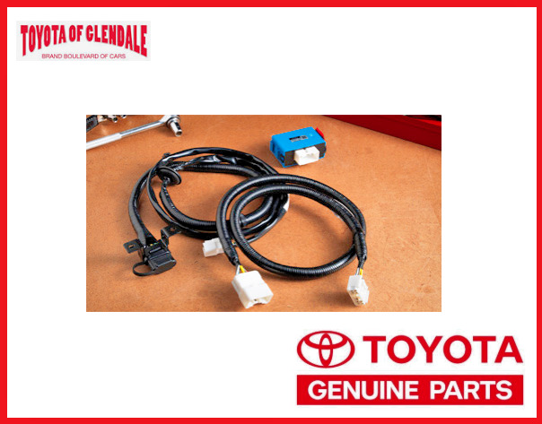 2014-2019 TOYOTA HIGHLANDER / HYBRID TOWING WIRE HARNESS GENUINE OEM