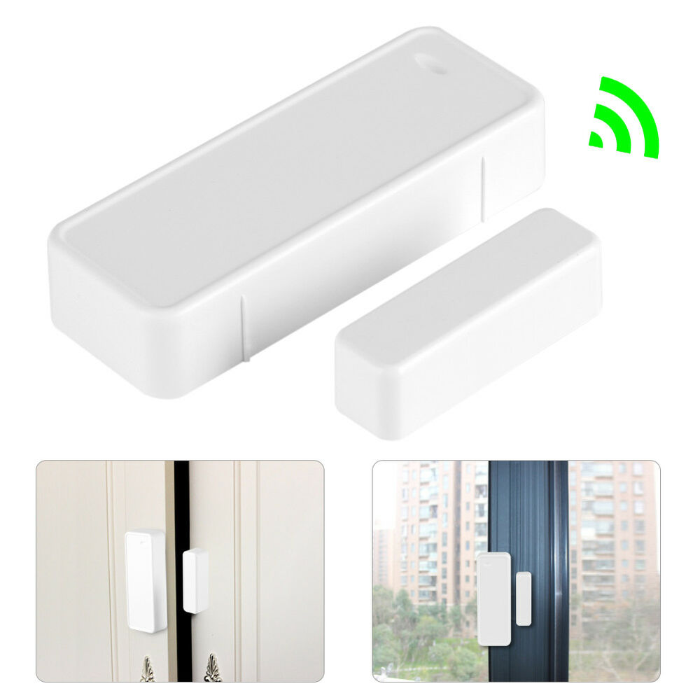 Camera Surveillance Exterieur Gsm 433mhz 12v Door Magnetic Wireless Sensor Detector Switch For Alarm Security S 826963696636 Ebay