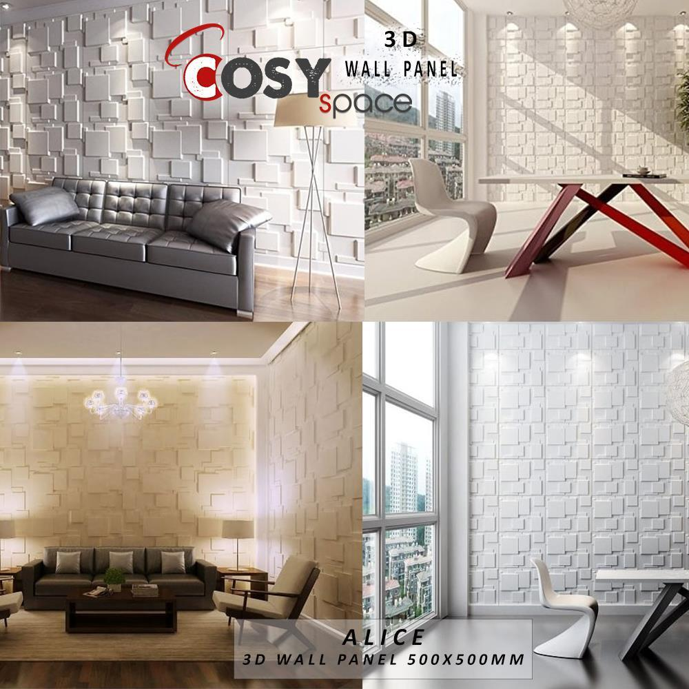 3d Wall Decor 3d Wall Panel Natural Bamboo Fibre Tiles Cladding Featured Wall Decor New Trend Ebay
