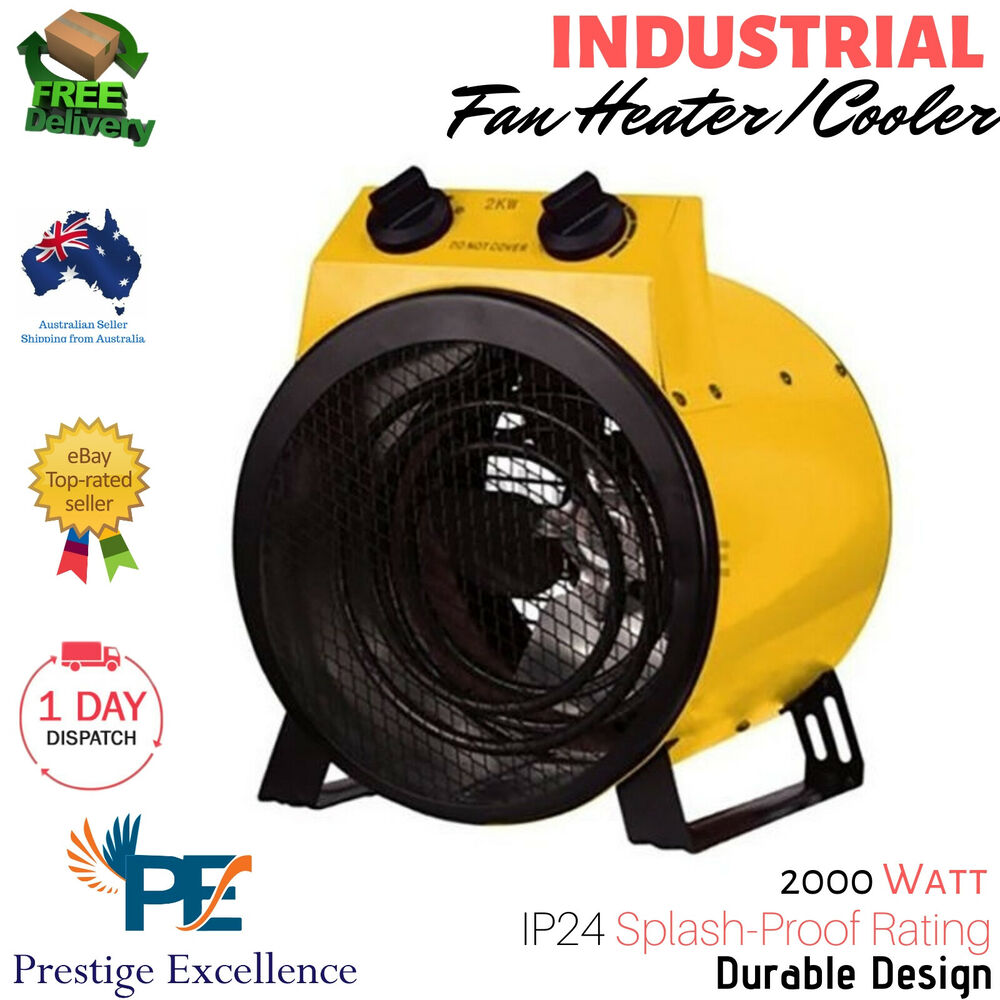Garage Carpet Australia Industrial Fan Heater Electric Workshop Floor Carpet Dryer Blower Shed Garage Au Ebay