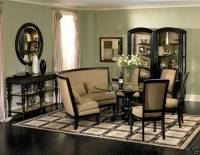 VENTURA-TRADITIONAL BANQUETTE STYLE ROUND DINING ROOM ...
