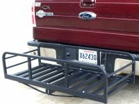 Auto Truck SUV Hitch and Ride Black Cargo Carrier Rack ...