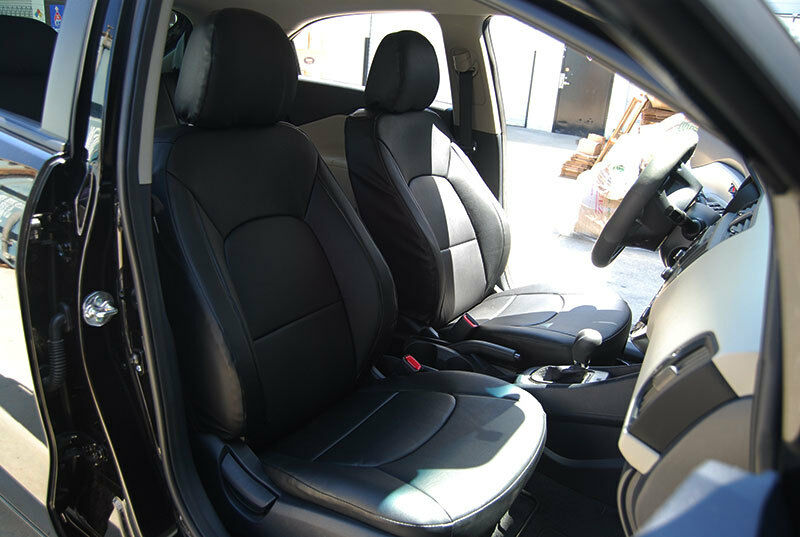 Baby Car Seats Leather Kia Rio 2012 2013 Leather Like Custom Fit Seat Cover Ebay