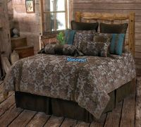 NEW Western Rustic Country Fleur De Lis Turquoise ...