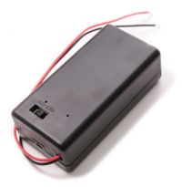 9v Battery Holder Case with ON/OFF Switch 9 volt Box Pack ...