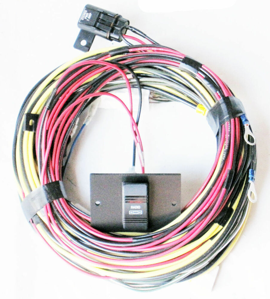 glastron wiring harness