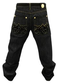 NWT AUTHENTIC MEN'S CROWN HOLDER BLACK AND GOLD COLOR ...