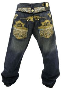 NWT AUTHENTIC MEN'S CROWN HOLDER MELLOW BLUE AND GOLD ...