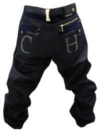 NWT AUTHENTIC MEN'S CROWN HOLDER RAW BLUE COLOR JEANS ...