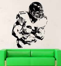 Wall Stickers Vinyl Decal US Football Player Super Bowl ...
