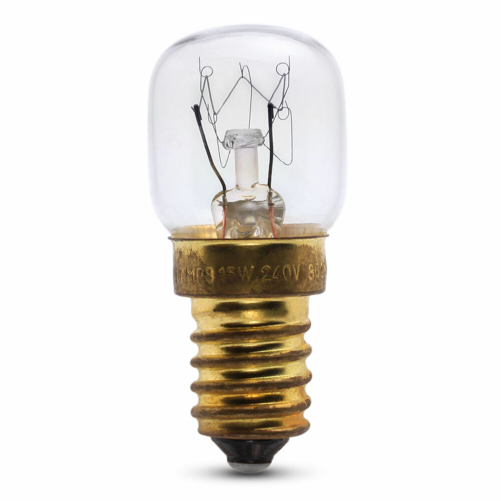 E14 Lamp 15w Ses E14 Oven Bulb Lamp Light Bulb 300 Degree X1 Small